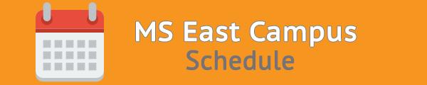 MS junior campus east campus schedule