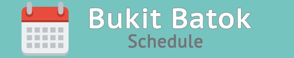 MS junior campus bishan schedule